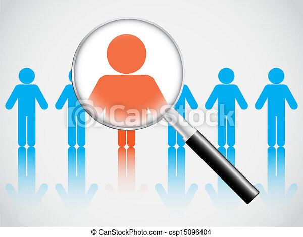 Human Resources Vector Human Resource Concept Vector