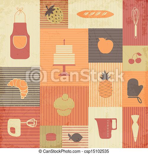 Vector Kitchen Tools - csp15102535
