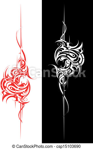 Tribal art - csp15103690