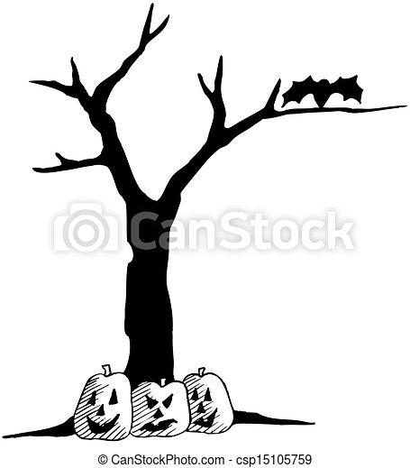 clipart vector of halloween tree silhouette halloween fall tree clip art borders fall tree clip art with student hands