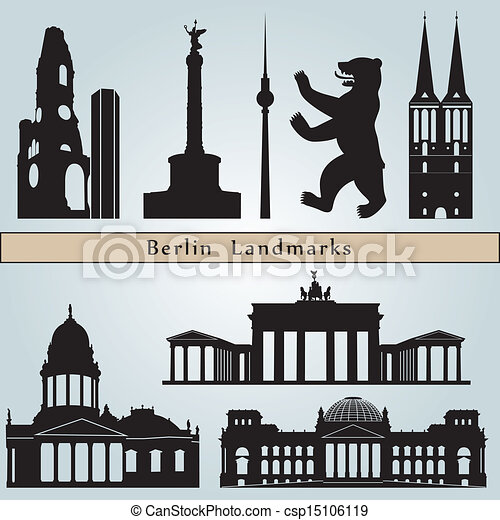 Berlin landmarks and monuments - csp15106119