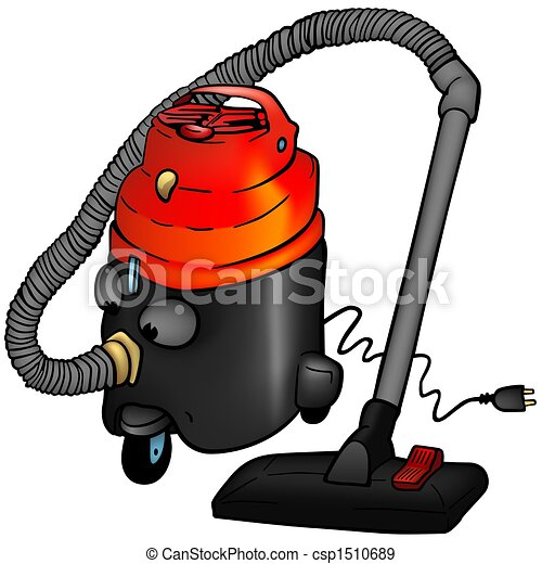 Vacuum Cleaner - Royalty Free Stock Illustration - csp1510689 Vacuum Clipart