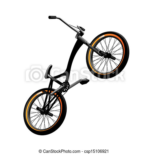Bmx bicycle - csp15106921