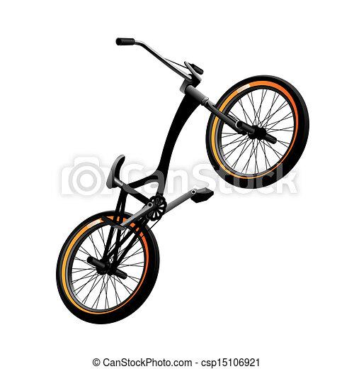 Bmx bicycle - csp15106921