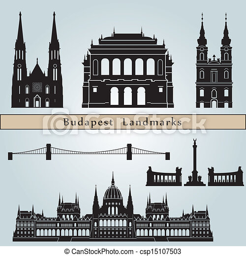 Budapest landmarks and monuments - csp15107503