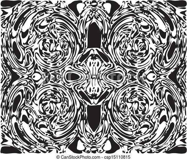 Spooky Skull Face Between Vortex - csp15110815