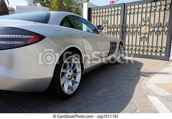 Luxury sports car Mercedes Benz SLR McLaren in Dubai - csp1511191