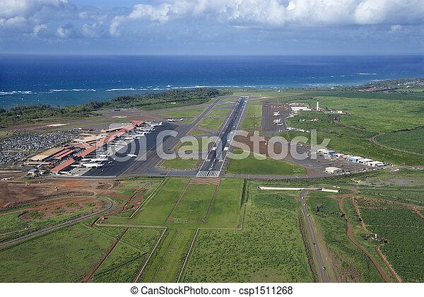 空港。, maui, ハワイ - csp1511268