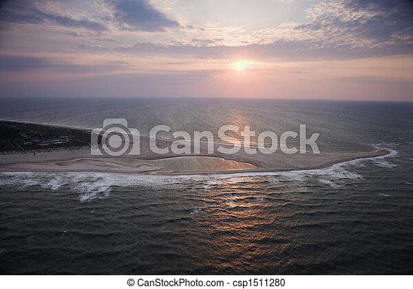 浅瀬, 航空写真 - csp1511280