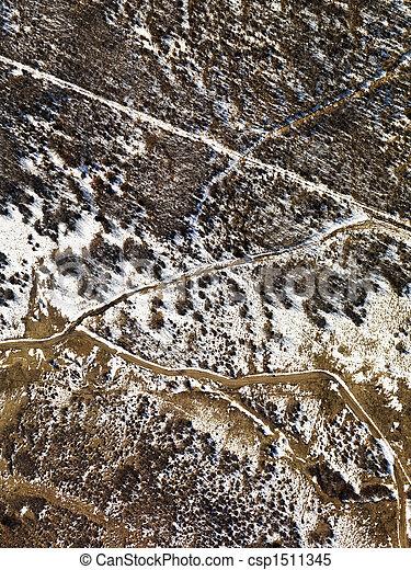 colorado, 田園, 航空写真 - csp1511345