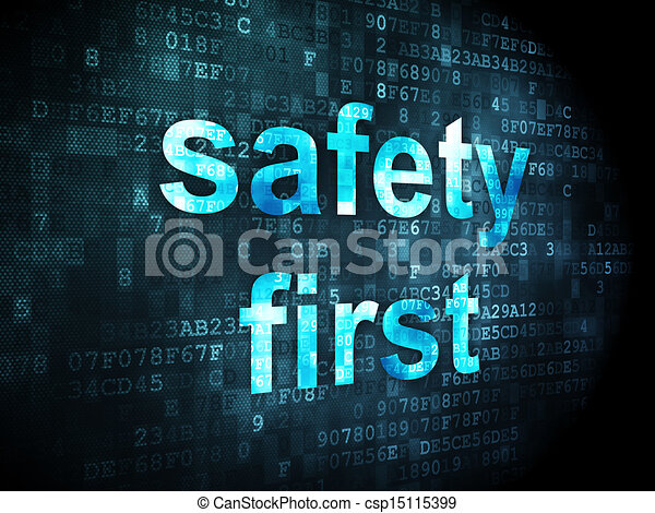 Safety First Clipart