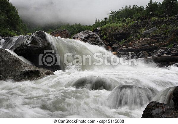 Mountain river - csp15115888