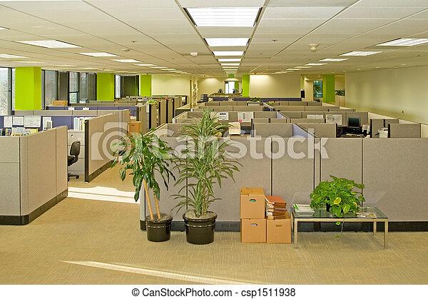 espaços, escritório - csp1511938