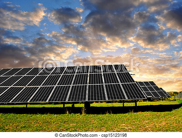 Solar energy panels - csp15123198