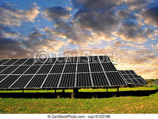 Solar energy panels - csp15123198