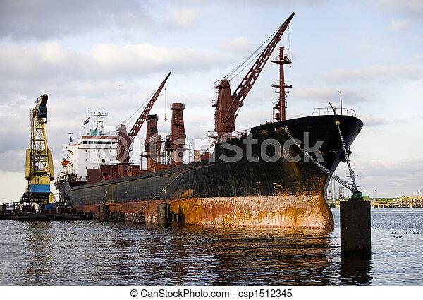 Cargo ship - csp1512345