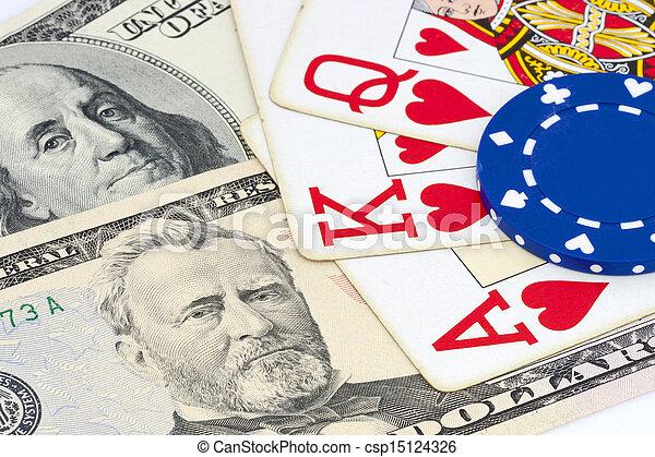 gambling concept - csp15124326