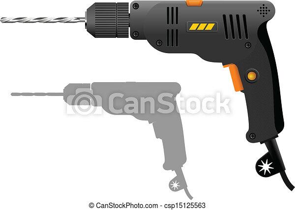 Power Tool Drawings Power Drill Csp15125563