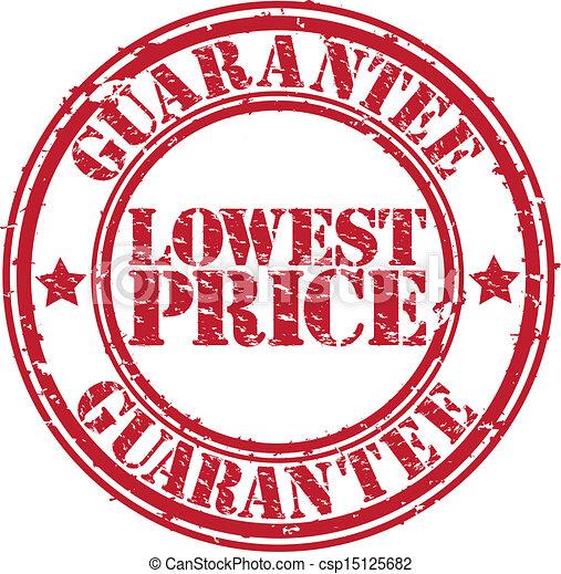 Lowest Price Icon Grunge Lowest Price Guarantee