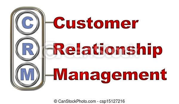 3D Crm - Customer Relationship Management Stock ...