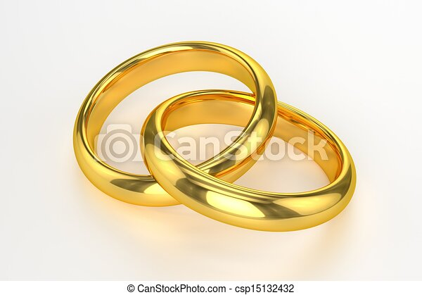, mariage, Anneaux csp15132432 - Recherchez des Illustrations Clipart ...