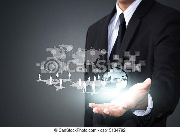 コミュニケーション, ネットワーク, 社会 - csp15134792