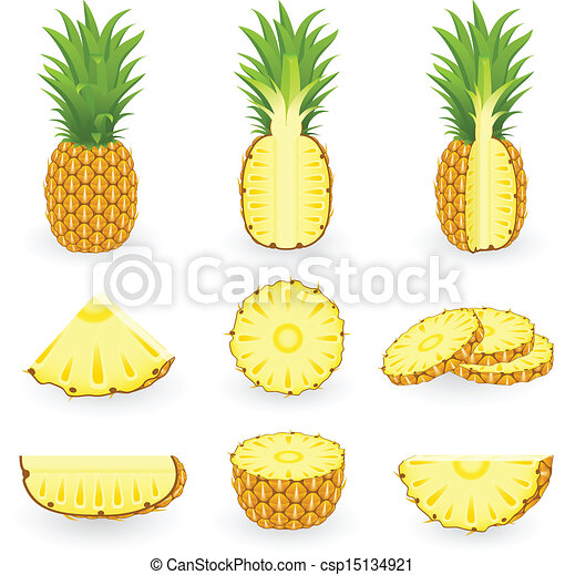 ... pineapple csp15134921 - Search Clipart, Illustration, Drawings, and