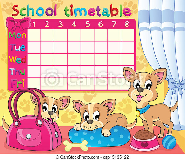 School Timetables uk School Timetable Thematic