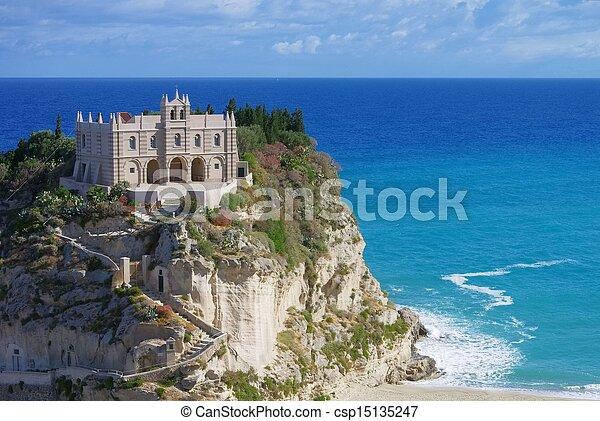 Tropea church  - csp15135247