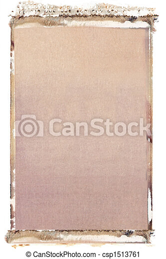 35mm polaroid transfer - csp1513761