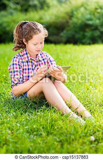 niña libre adolescente
