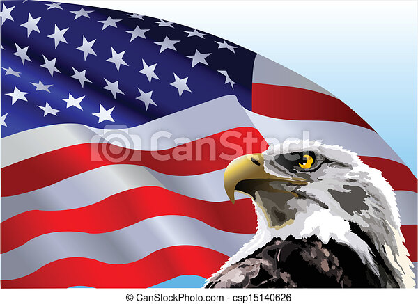 American flag eagle Clipart Vector and Illustration. 1,585 ...