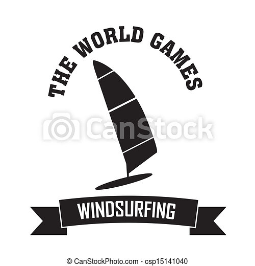 windsurfing clip art