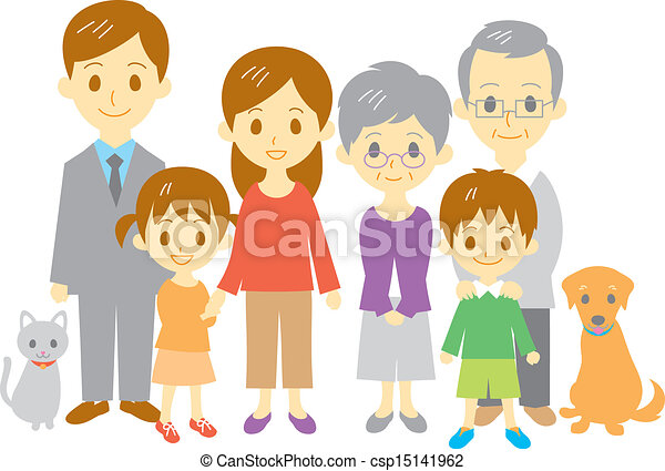 Clipart Of Grandmother