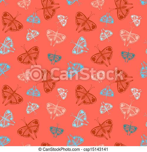Vetor eps de padr o coloridos borboletas aleat rio for Sala de estar 3x5