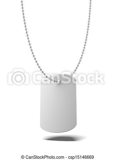 Military ID tag - csp15146669