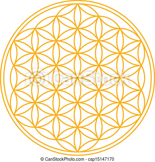 Flower of Life - csp15147170