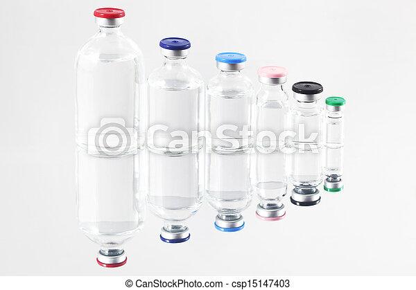 Pharmaceutical vials - csp15147403