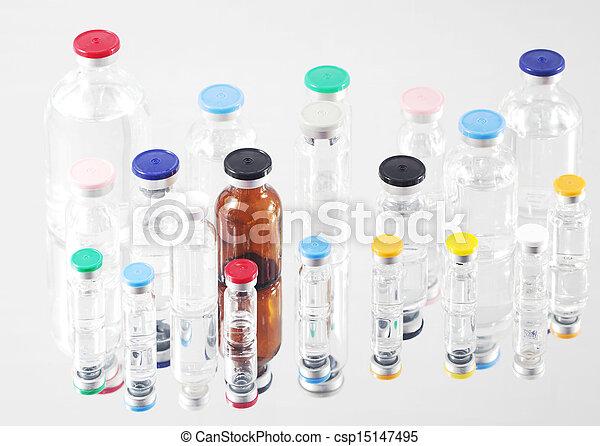 Pharmaceutical vials - csp15147495