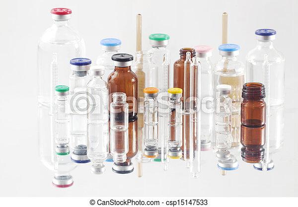 Pharmaceutical vials - csp15147533