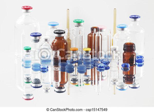 Pharmaceutical vials - csp15147549