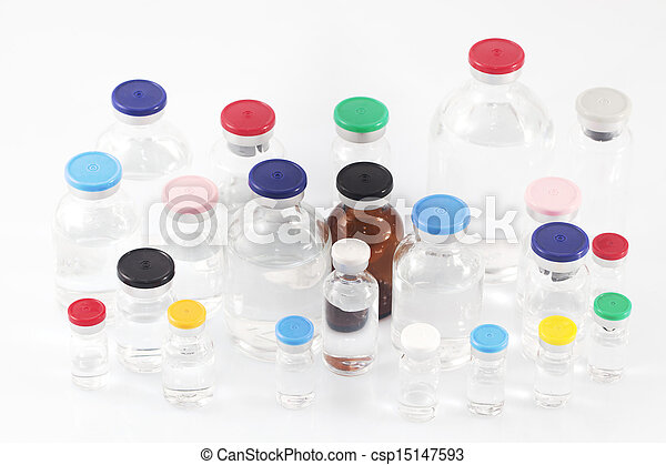 Pharmaceutical vials - csp15147593