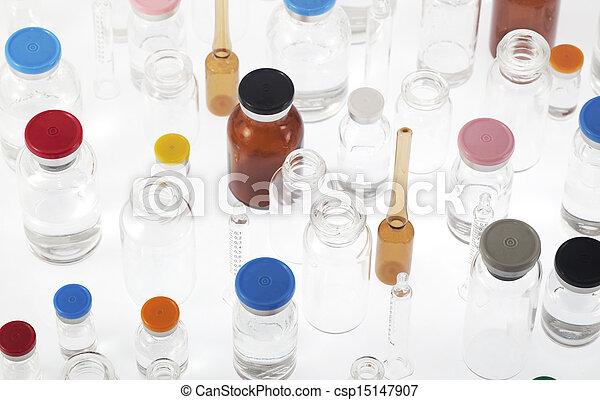 Pharmaceutical vials - csp15147907