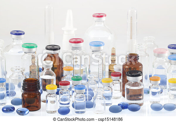 Pharmaceutical vials - csp15148186