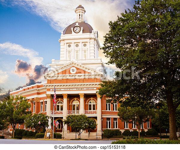 Historic Morgan County Courthouse - csp15153118