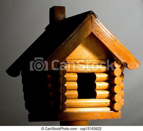 Wooden house - csp15163622