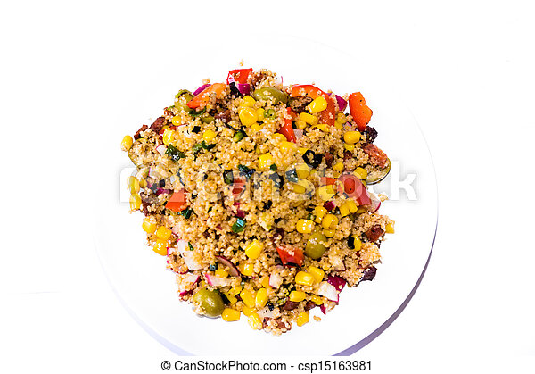 Vegetable cous cous meal. - csp15163981