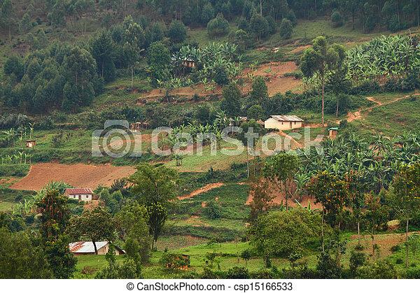 Rural Uganda Community - csp15166533