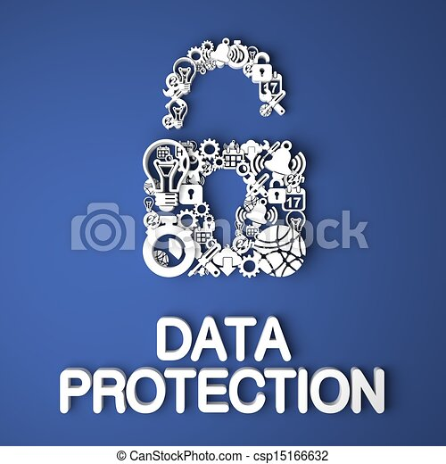 Data Protection Concept. - csp15166632
