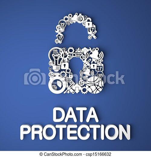 Data Protection Concept. - csp15166632